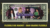 CINDERELLA IMAN BILLETE 1 DOLLAR BILL MAGNET