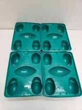 Lot of 4 Jello Jigglers Football Helmet Molds Games Tailgating Parties Shots