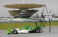 Nelson Piquet Jr  SIGNED A1GP Team Brazil Lola/Zytek , Sepang Malaysia 2005/6