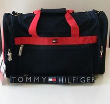 Vintage Tommy Hilfiger Duffle Bag Gym Sports Travel Carry On Luggage