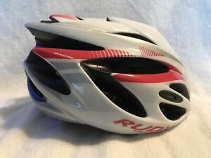 Rudy Project Rush Youth Helmet Cycling/Triathlon Size: 51-55cm White/Rubin