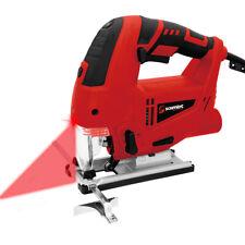 Stichsäge 800W Pendelhubstichsäge Pendelhub Profi Laser LED Säge mit Sägeblätter