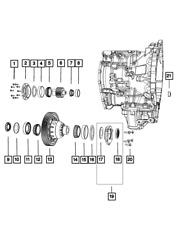 Genuine Mopar Differential Bearing 1790541