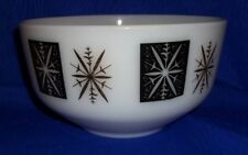 Vintage Starburst Federal Mixing Bowl 2 1/2 qt. Mid Century Eames Era