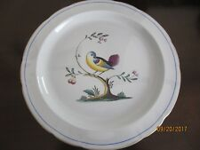 Spode Chop Plate --- Queen's Bird