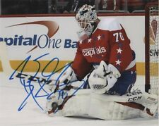Washington Capitals Braden Holtby Autographed Signed 8x10 NHL Photo COA A5