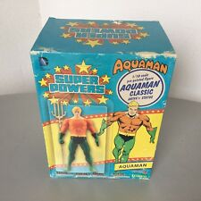 SUPER POWERS 1/10 AQUAMAN CLASSICS KOTOBUKIYA DC COLLECTIBLES ACTION FIGURE#NIB