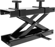 Motorcycle Scissor Lift Jack 1,100 lb Touring Cruiser Bike Front or Rear