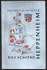 Hessen Bergstraße Heppenheim Geschichte Architektur Baukunst 1959