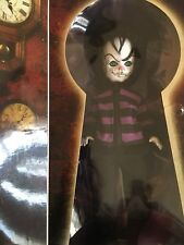 LIVING DEAD DOLLS Alice in Wonderland JINX the CHESHIRE CAT Hot Topic NIB RARE
