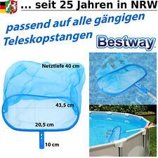 Pool Kescher Bodenkescher Netz Reinigung  Poolkescher Laubkescher Schwimmbad