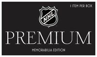 NHL Premium Memorabilia Collection - 1 item per box - Hockey + COA