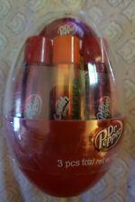 3 pack Lip Smacker Dr. Pepper + Orange Crush soda Lip Balm Easter Egg Set SEALED