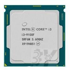 Intel Core i3-9100F 4-Cores 3.6GHz LGA 1151 Processor Cache 6M