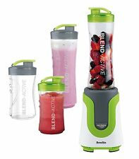 Breville Blend-Active Personal Blender Family Pack, White and Green