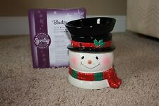 Brand New Scentsy Bluster Full-Size Warmer - Retired