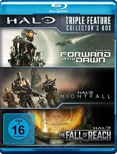 CHONG, WADDINGTON,... -HALO-TRIPLE FEATURE COLLECTOR'S BOX  3 BLU-RAY NEU