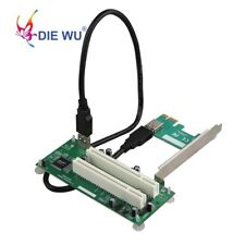 PCI-Express to PCI Adapter Card PCIe to Dual Pci Slot Expansion Card