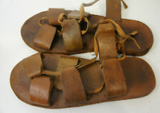 Roman Shoes Leather Caligae Greek Medieval Jesus Biblical SCA JOHN CARTER Prop 9