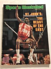 1983 Sports Illustrated ST JOHNS Big East CHAMPS No Label THE BEAST OF THE EAST