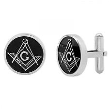 Stainless Steel Oval Cufflinks without Stone for Men