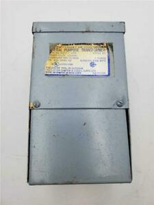 ACME GEN PURPOSE TRANSFORMER T-1-81056 1 PHASE PRIM-120X240 SEC-16X32 .150 KVA