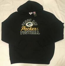Green Bay Packers Hoodie Sweatshirt MEN'S Large NEW Football NFL Majestic NEW