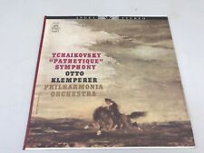 "KLEMPERER Tchaikovsky ""Pathetique"" Symphony  Stereo Philharmonia Orchestra Angel"
