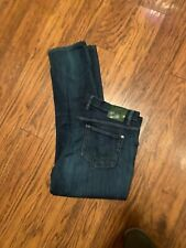 ALBERTO Pipe Regular Slim Fit  Jeans Dark Wash 40 X 34 ~ Distressed