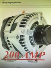 ALTERNATOR JEEP LIBERTY DIESEL 2005 2006 2.8L WITH CLUTCH PULLEY 11114 HIGH AMP