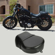 Black Rear Passenger Seat Pillion for Harley Sportster XL 883 1200 07-13 2008