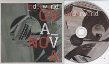UNDERWORLD OVA NOVA RARE 5 TRACK PROMO CD