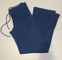 "UGG Womens Size Large 32"" x 32"" Sweatpants Fleece Lined Blue Drawstring UA4088W"
