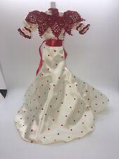 Coca Cola Soda Fountain Sweetheart Gown,  Victorian Era Dress, Mattel Barbie