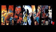3ft x 5ft MARVEL Flag Avengers X-Men Spiderman Wolverine Fantastic4