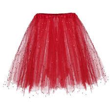 Women Layers Tulle Skirt Dress Princess Girls Ballet Tutu Dance Skirt Fanny CA