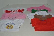 Build A Bear~#5~Assortment Of 10 Girl's Clothes~10 Shirts~G2