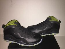Brand New- Air Jordan Retro 10 Venom Green 310805033 Men's Size 10.5