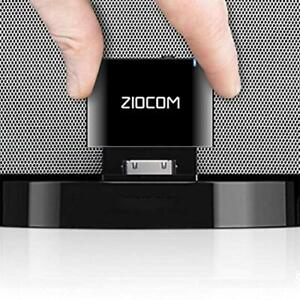 ZIOCOM 30 Pin Bluetooth Adapter Receiver for iPhone iPod Bose SoundDock and O...