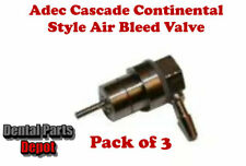 Adec Air Bleed Valve for Unitized Holder with 90 Degree Barb (DCI #9151 x 3)
