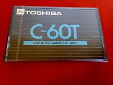 CASSETTE TAPE BLANK SEALED - 1x (one) TOSHIBA C-60T [1973-76] RARE- Bombeat