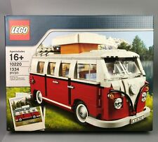 Retired LEGO VW T1 Camper Van 10220 New Sealed Box