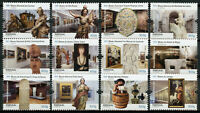 Portugal Art Stamps 2020 MNH Museums Part II Paintings Sculpture 12v Set