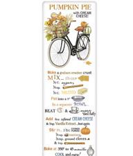 Mary Lake Thompson Single Bagged Flower Sack Towel 30 x 30 RECIPE Pumpkin Bike