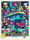 Tyler Stout Flight of the Conchords 2018 UK Tour Mondo Poster United Kingdom
