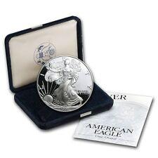 1998-P Silver Eagle Dollar Proof - $1 U.S. Mint 1 oz .999  with Box & COA