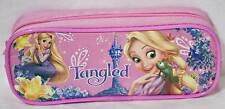 Disney Princess Tangled Rapunzel 1 Zipper School Pencil Case Cosmetic Bag Pink