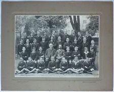 PHOTO ANCIENNE GROUPE ECOLE GARCONS 2 - J. DAVID & E. VALLOIS - CIRCA 1925/30