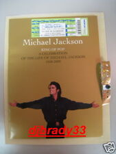 MICHAEL JACKSON MEMORIAL FUNERAL PROGRAM PACKAGE WITH TICKET! BEWARE OF FAKES!