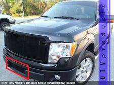 GTG 2009 - 2012 Ford F150 1PC Gloss Black Bumper Insert Billet Grille Grill